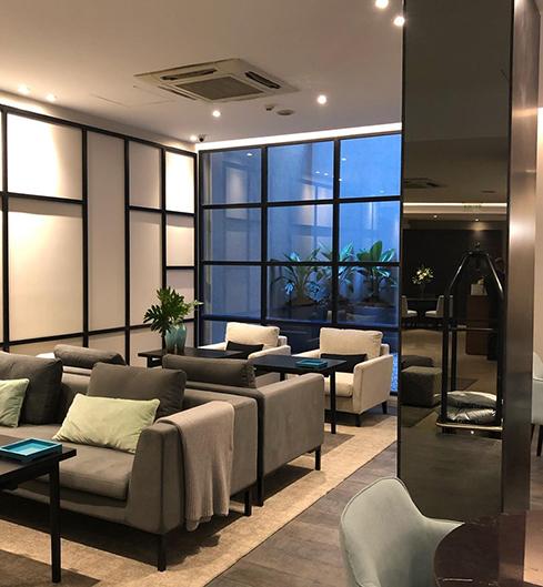 Arquitectura interior para hoteles en Capital – Hotel NH Crillón – Arq. Viviana Melamed