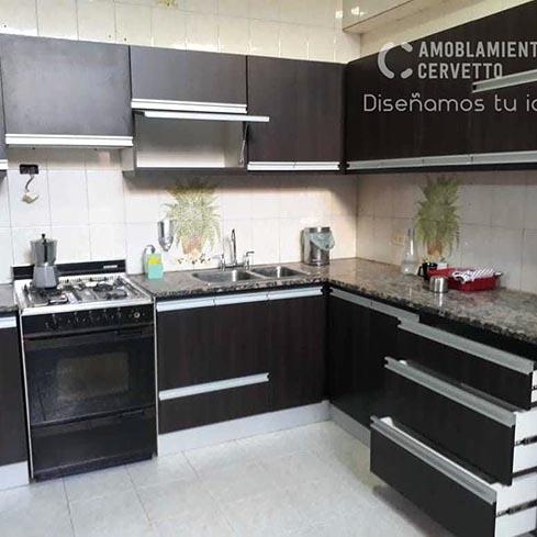 Fábrica de muebles de cocina a medida en Ramos Mejía – Amoblamientos Cervetto