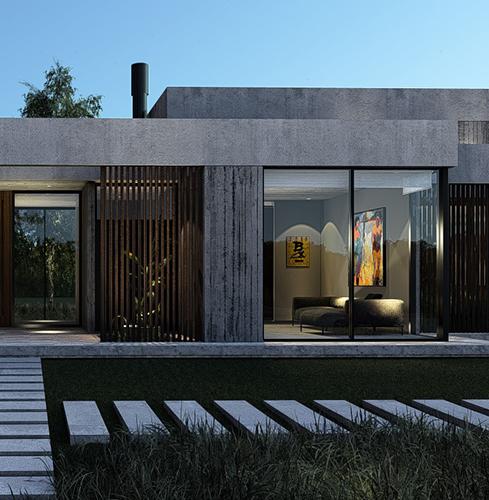 Diseño & construcción de viviendas de lujo en Costa Esmeralda – Pinamar – Arquitecto Horacio Cáceres