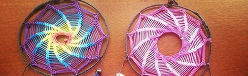 Atrapasueños artesanales tejidos a mano en Carlos Paz – Alquimia Artesanías & Deco