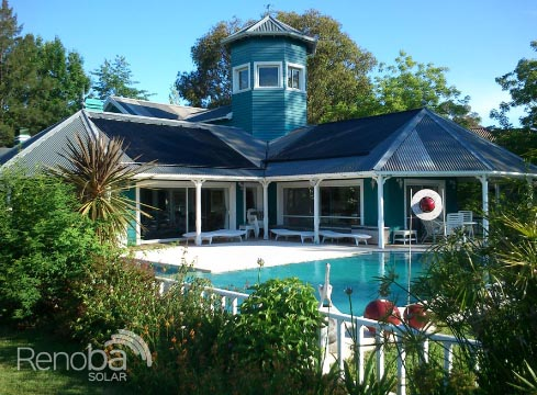 Climatización de piscinas con energía solar en zona norte – Renoba Solar