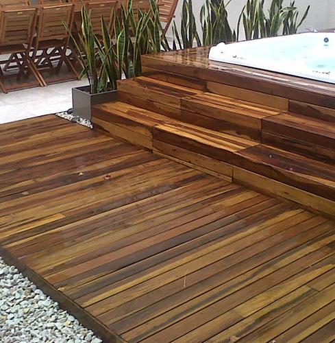 Decks en Madera maciza para exteriores en Nordelta – Grupo Forestal