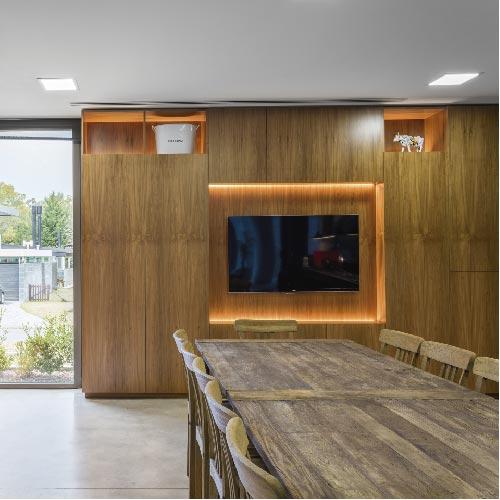 Diseño de interiores para casas modernas – Barrio Abril – Arq. Viviana Melamed