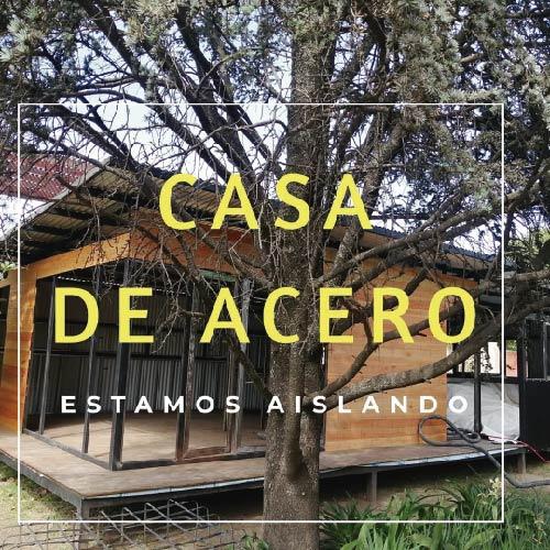 Aislación térmica y acústica con celulosa proyectada – Córdoba – Ingeniería Steel