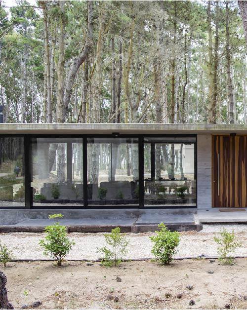 Diseño de casas de hormigón – Pinamar – Ebeca