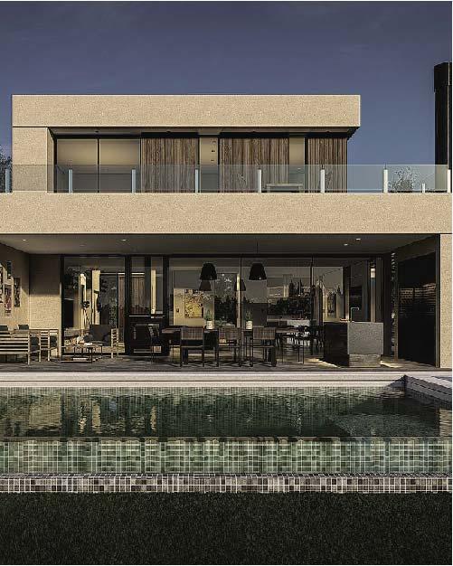 Diseño de casas en barrios cerrados – Puertos del Plata – Hudson – Arquitecto Horacio Cáceres