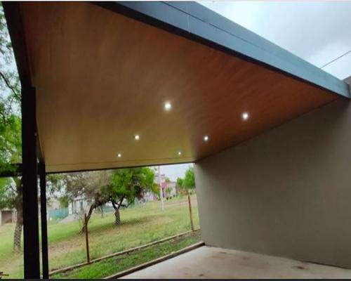 Cielorraso simil madera- Córdoba-Modernia