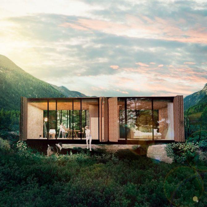 Construcciones móviles sustentables – NÓMADE – Síncresis Arquitectos