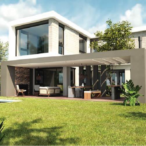 Diseño y construcción de casas – Barrio Santa Ana – Villanueva – BG+A Arquitectos