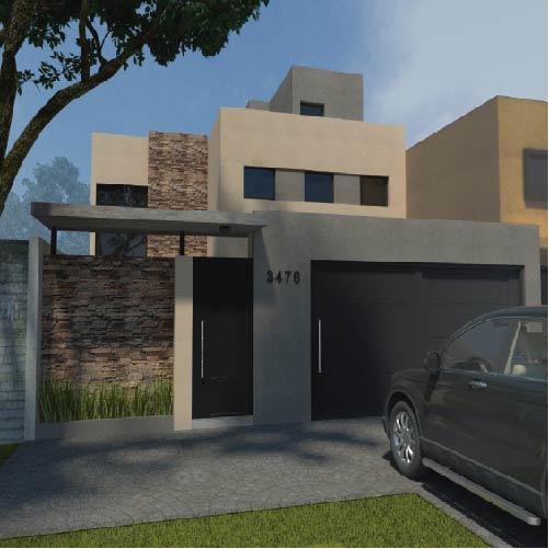 Construcción de casas en Gonnet – La Plata – Estudio Kopecek Froiz