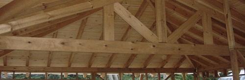 tirantes de madera para techos
