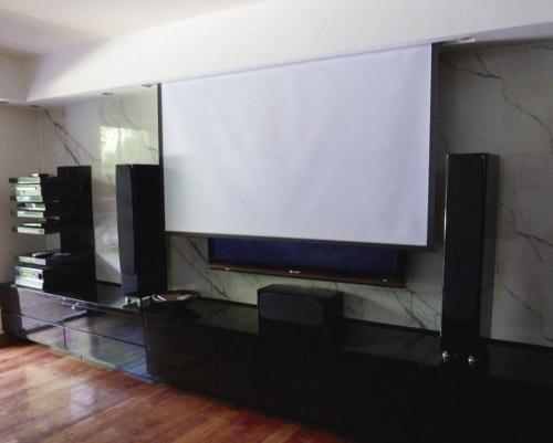 Cine en casa – Sistema de audio y video – Nordelta – 6punto1