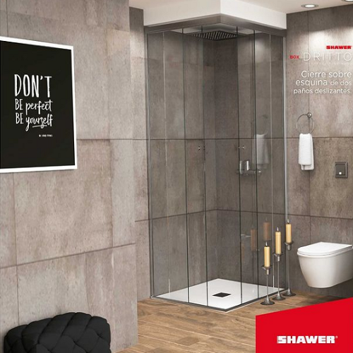 Mamparas para baño – Zona Norte- Dritto- Shawer